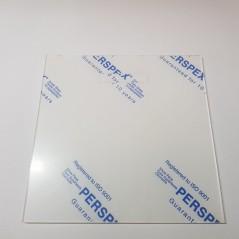 2mm Acrylic Square 175mm x 175mm Basic Shapes - Square Rectangle Circle