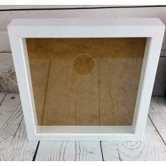Blank Acrylic Front for Ikea Ribba Frame - circle cut out Basic Shapes - Square Rectangle Circle