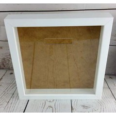 Blank Acrylic Front for Ikea Ribba Frame - with money slot cut out Basic Shapes - Square Rectangle Circle