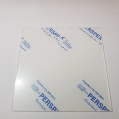 Blank Acrylic Front for IKEA Ribba or Sannahed Frame - Full Piece Basic Shapes - Square Rectangle Circle