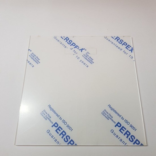 Blank Acrylic Front for the Range Box Frame (201mmx201mm) - choose from options Basic Shapes - Square Rectangle Circle