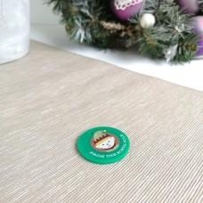 Printed Elf Tag Christmas Acrylic