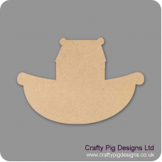 3mm MDF Ark Small MDF Embellishments