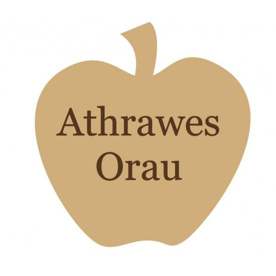 18mm Freestanding  Apple - Athrawes Orau Teachers