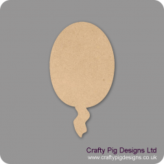 3mm MDF Balloon (pack of 10)