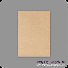 A3 Size Blank Plaque (choose from 3mm 4mm 6mm 4mm Oak Veneer or 18mm MDF/19mm Oak Veneer) Basic Plaque Shapes