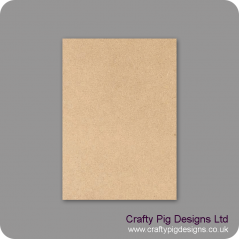 A3 Size Blank Plaque (choose from 3mm 4mm 6mm 4mm Oak Veneer or 18mm MDF/19mm Oak Veneer) Basic Plaque Shapes
