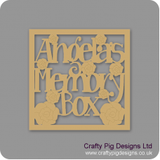 3mm MDF Make Your Own Box topper Personalised and Bespoke