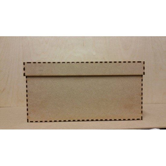 3mm MDF Extra Small 15x15x10cm Christmas Eve / Memory box with lid Boxes
