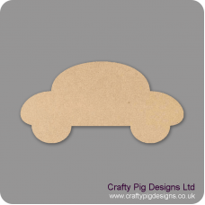 3mm MDF Bubble Car Shape Baby Shapes