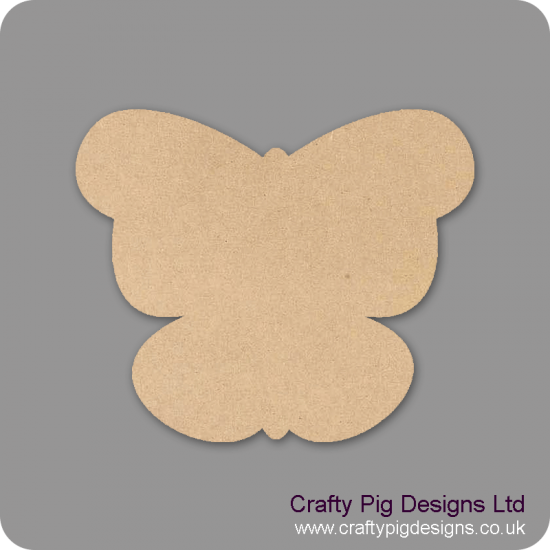 3mm MDF Butterfly 3 Animal Shapes