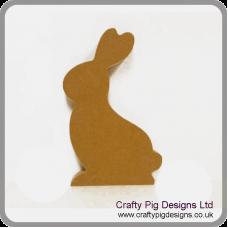 18mm MDF Rabbit Shape  Easter