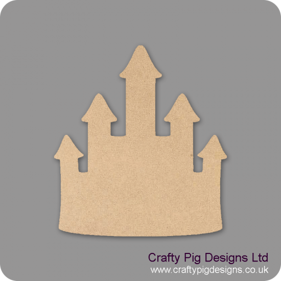 3mm MDF Princess Castle