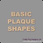 Basic Plaque Shapes