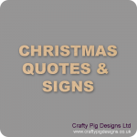 Christmas Quotes & Signs