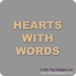 Hearts With Words