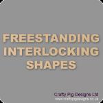 18mm MDF Interlocking Craft Shapes