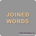 Joined Words