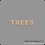 Trees Freestanding, Flat & Kits