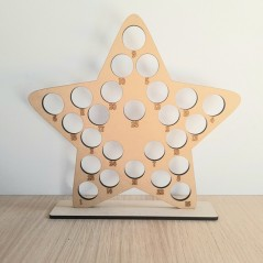 6mm Star Shape Ferrero Rocher Advent Calendar