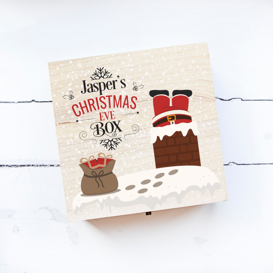 Personalised Square Printed Box Design - Chimney Personalised and Bespoke