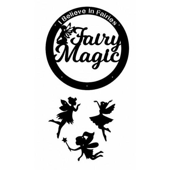 3mm mdf I Believe In Fairies Dream Catcher Dream Catchers