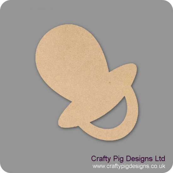 3mm MDF Dummy (pack of 10)(3cm) Baby Shapes