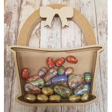 18mm Fillable Easter Basket Chocolate Egg Drop Box Easter