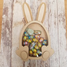 18mm Fillable Easter Egg with Ears Chocolate Egg Drop Box Easter