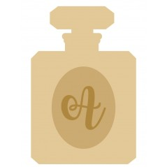 18mm Layered Perfume Bottle Shape with letter Personalised and Bespoke