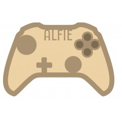 18mm Layered Fillable XBox Pad Personalised and Bespoke