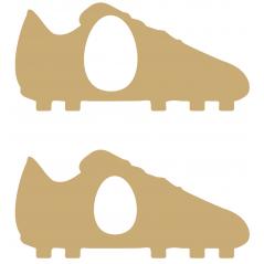18mm OAK VENEER Football Boot Kinder or Cadbury Egg Holder Easter