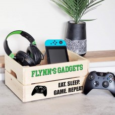 Printed Pale Crate - Gadgets Green - XBox Personalised and Bespoke