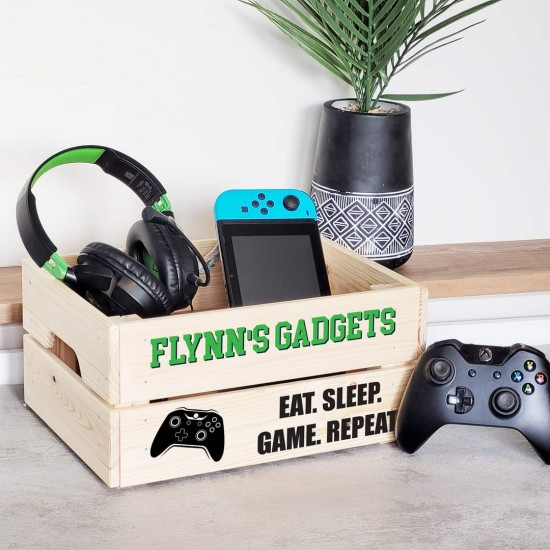 Printed Crate - Gadgets Green - XBox Personalised and Bespoke