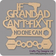 3mm MDF If Grandad Can't Fix It Plinth (choose from options)