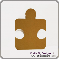 18mm Single Jigsaw Piece Rounded Edge (200mm)