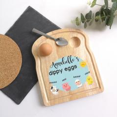 Printed Breakfast Board -  Farm Animals