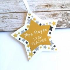 Star Teacher Printed Star Teachers