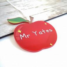 Printed Teachers Apple  Teachers