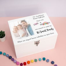 White Deluxe Printed Photo Box - Style 1 Boxes