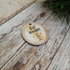 3mm Printed Token - Best Bampi Fathers Day