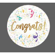 3mm Printed Token - Congrats! Birthdays