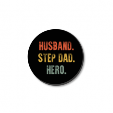 3mm Printed Token - Husband Step Dad Hero Fathers Day