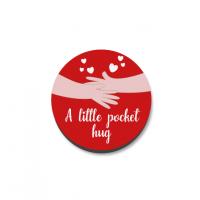 3mm Printed Pocket Hug - Red