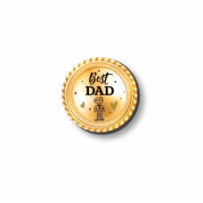 3mm Printed Token - Best Dad