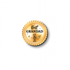 3mm Printed Token - Best Grandad