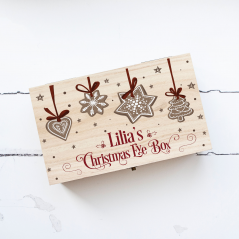 Personalised Rectangular Printed Box - Biscuits
