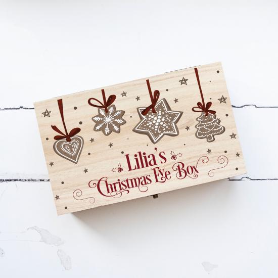 Personalised Rectangular Printed Box - Biscuits Personalised and Bespoke