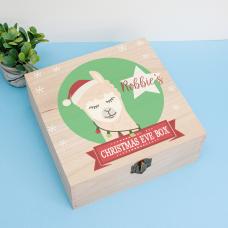 Personalised Square Printed Box Design - Llama Boy Personalised and Bespoke