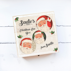 Personalised Square Printed Box Design - cCheeky Santas Personalised and Bespoke